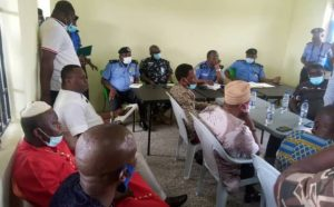 EDO CP MEETS WITH EDOCSO AND OTHERS